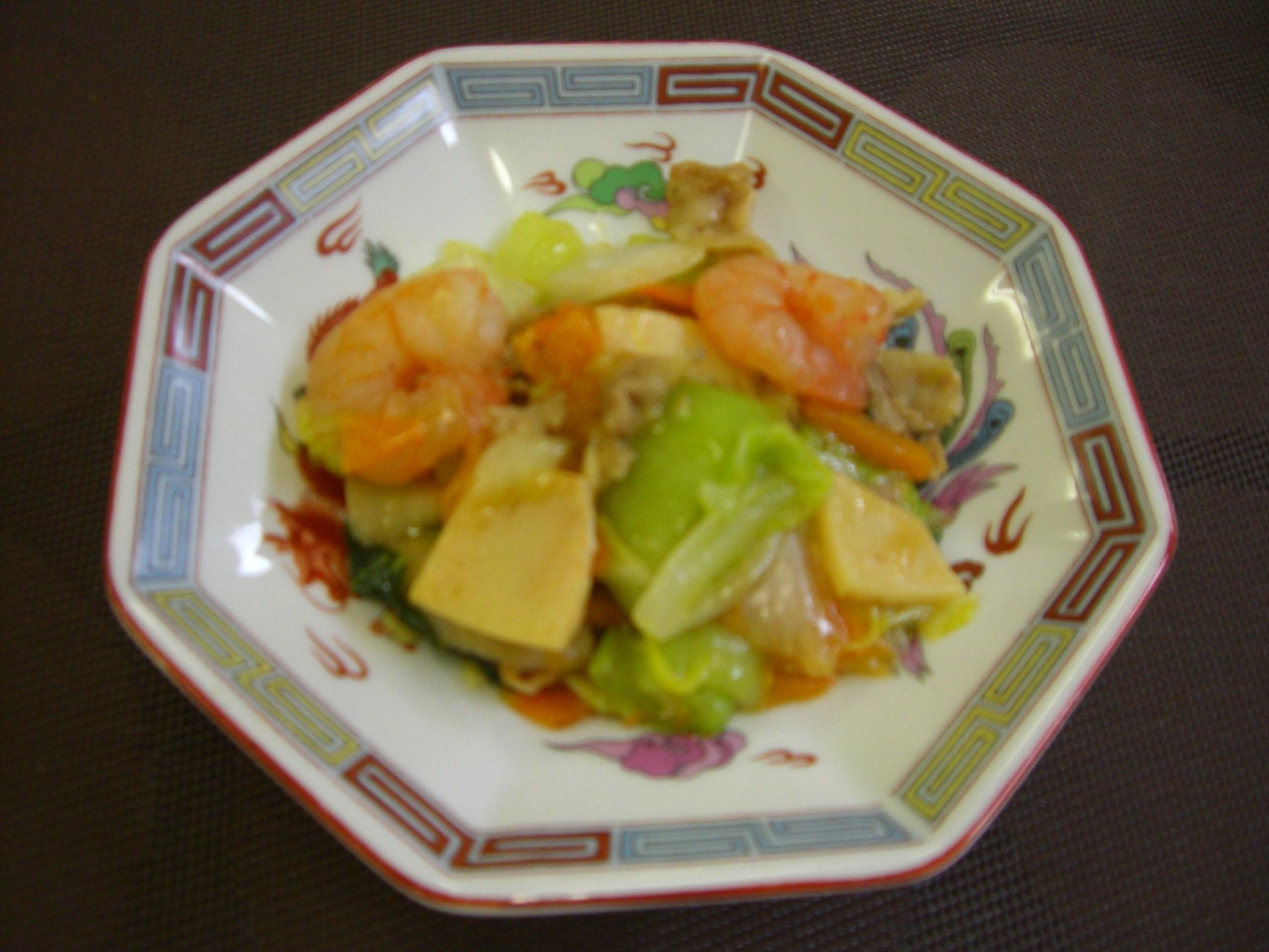 うわてん八宝菜(聖霊女子短期大学 考案)